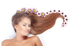 Beautiful hair Stock Photos