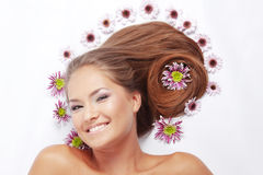 Beautiful hair Stock Image