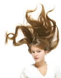 Beautiful hair Stock Photography