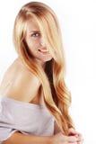 Beautiful hair Stock Images