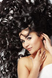 Beautiful hair Royalty Free Stock Images