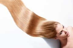 Beautiful hair Stock Image