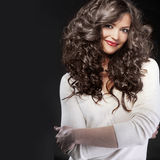 Beautiful hair Stock Photo