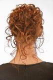 Beautiful hairdress of young girl Stock Photos