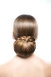 Beautiful hairstyle Royalty Free Stock Photo
