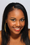 Beautiful Haitian Girl, Headshot (1) Stock Photos