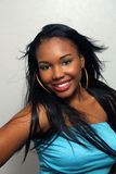 Beautiful Haitian Girl, Headshot (6) Stock Photos
