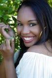 Beautiful Haitian Girl Outdoors (12) Stock Photo