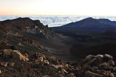 Beautiful Haleakala Crater on Maui Royalty Free Stock Image