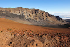 Beautiful Haleakala Crater on Maui Royalty Free Stock Images