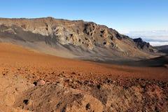 Beautiful Haleakala Crater on Maui Royalty Free Stock Images