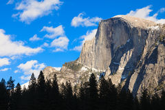 Beautiful Half Dome stock images