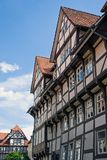 Beautiful half-timbered houses Stock Image