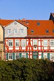 Beautiful half-timbered houses Royalty Free Stock Photos