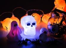 Beautiful halloween decoration trick or treat stock photography