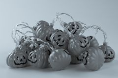 Beautiful halloween decoration trick or treat stock photo