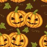 Beautiful halloween seamless pattern Stock Image