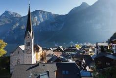 Beautiful Hallstatt in Austria Royalty Free Stock Photos