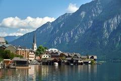 Beautiful Hallstatt in Austria Stock Photo