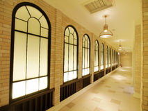 Beautiful hallway Stock Images