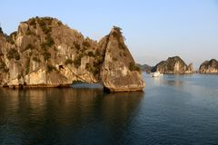 Halong Bay in the morning - Vietnam royalty free stock photography