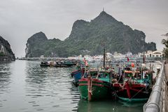 Beautiful Halong royalty free stock images