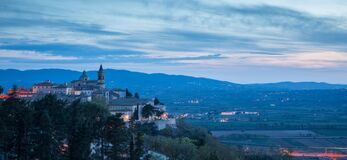 Free Beautiful Hamlet Of Trevi At Sunset, Umbria, Italy Royalty Free Stock Photos - 175603868