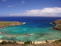 Beautiful Hanauma Bay, Hawaii Royalty Free Stock Image