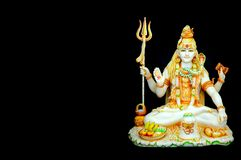 Free Beautiful Hand Carved Marble Statue Of Hindu God, Lord Shiva Stock Image - 156787291