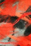 Beautiful hand-made felt texture - background Royalty Free Stock Photography
