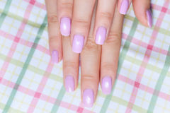 Beautiful hand and manicure Royalty Free Stock Photos
