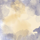 Beautiful hand painted watercolor background Royalty Free Stock Photos