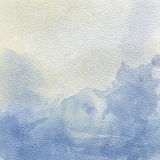 Beautiful hand painted watercolor background Royalty Free Stock Image