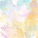 Beautiful hand painted watercolor background Royalty Free Stock Images