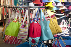 Beautiful handbags Stock Images