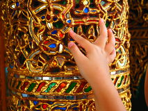 Beautiful handicraft Stock Photography
