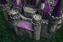 Beautiful handmade castle Royalty Free Stock Photos