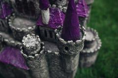 Beautiful handmade castle Royalty Free Stock Image