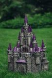 Beautiful handmade castle Stock Photography