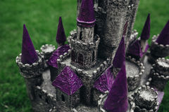 Beautiful handmade castle Stock Image