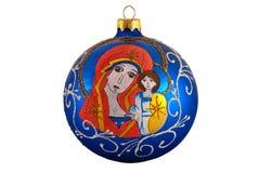 Beautiful handmade christmas-tree decoration Royalty Free Stock Image