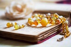 Beautiful handmade jewelry Royalty Free Stock Photo