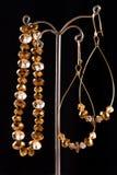 Beautiful handmade jewelry Stock Photography