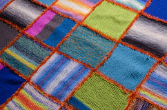 Beautiful handmade knitted work Royalty Free Stock Photography