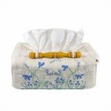 Beautiful handmade tissue paper box Stock Image