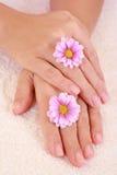 Beautiful hands Stock Photo