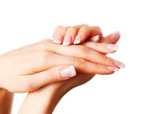 Beautiful hands Royalty Free Stock Photography