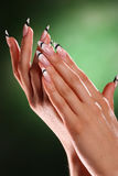 Beautiful hands and nails Royalty Free Stock Photo