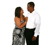 Beautiful And Handsome African Royalty Free Stock Photo