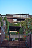 Beautiful hanging gardens Royalty Free Stock Image